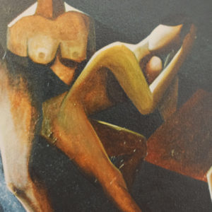 Bagnanti | Acrilico su tela 80 x 120