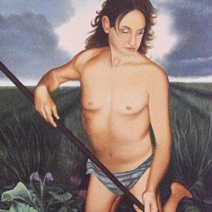 L'alba nelle vene | Olio su tela 50 x 70