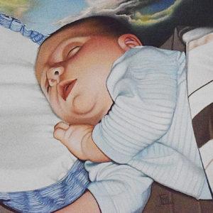 Il Sonno | Olio su tela 40 x 50