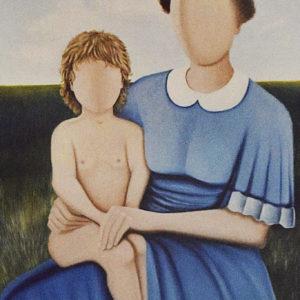 Maternità | Olio su tela 50 x 70