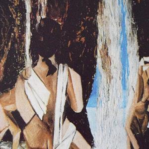 Bagnanti | Acrilico su tela 50 x 70