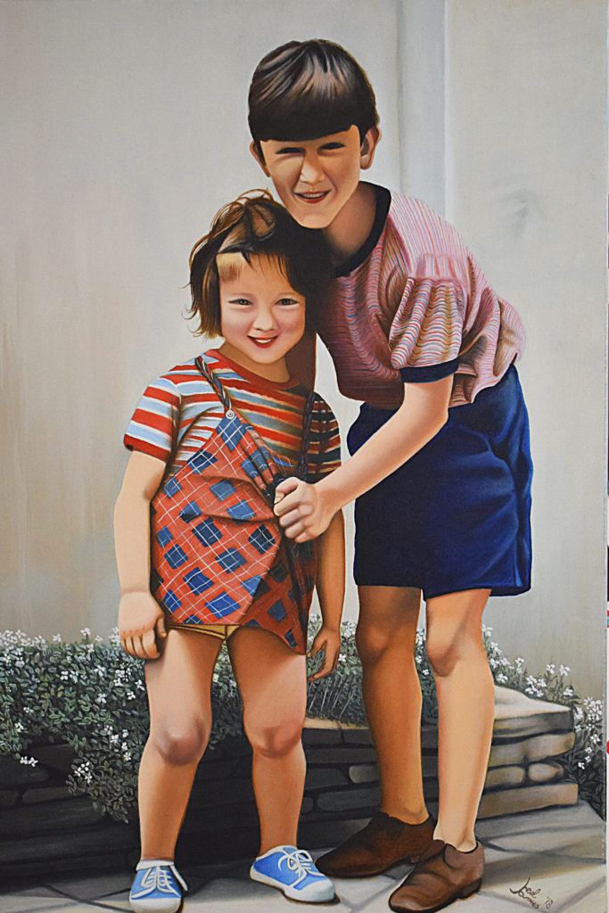 Il Dispetto | Olio su tela 40 x 60