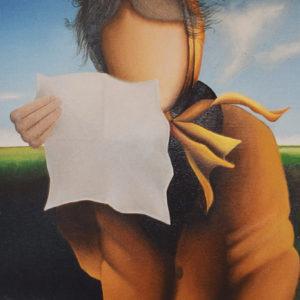 La Lettera | Olio su tela 40 x 60