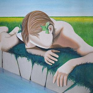 Narciso | Olio su tela cm. 50 x 70