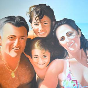 Famiglia | Olio su tela 50 x 70